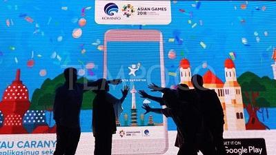 Kominfo Luncurkan Aplikasi untuk Asian Games 2018